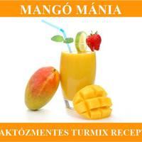 Mangó mánia, gluténmentes és tejmentes mangó turmix