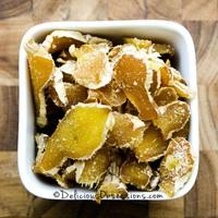 Mézzel kandírozott gyömbér készítése - recept