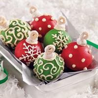 Diétás kókuszgolyó a karácsony ihletében