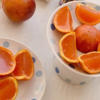 Vendégváró színpompás narancs zselé