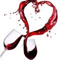 Egészséges koktélok, vagy egy  pohár finom bor Valentin napra.