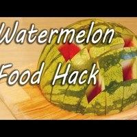 2 egyszerű tálalási módja a görögdinnyének