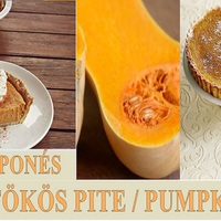 Mascarponés Sütőtök Süti -Pumpkin Pie