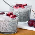 Cseresznyés/Meggyes Chia Puding Recept