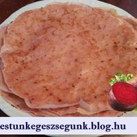 Palacsinta céklás, narancsos-sütőtökös, + 1 fánk