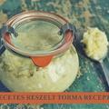 Ecetes Torma Recept Tejszínes Változatban is