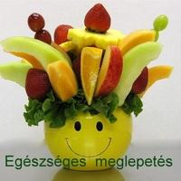 Ajándékozz egészséget! Gyümölcs-csokor ajándékba