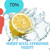 10 egészséges érv a citromos víz mellett