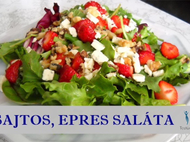 zsírégető saláta diétait