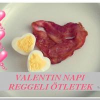 Valentin napi reggeli ötletek, receptek