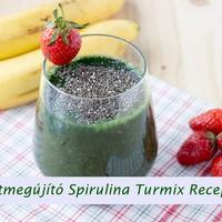 5 Méregtelenítő, Immunerősítő, Sejtmegújító Spirulina Turmix Recept