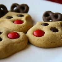 Karácsonyi rénszarvas süti recept