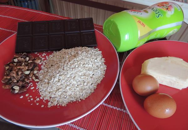 Zabpelyhes, diós, csokis keksz recept (cookie)-003.JPG
