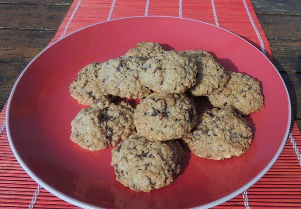 Zabpelyhes, diós, csokis keksz recept (cookie)-016.JPG