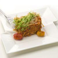 Paprikás rakott spagetti