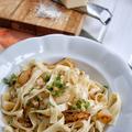 Legnépszerűbb receptjeink: Szélesmetélt tejszínes gorgonzolás körtés mártással