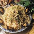 Fekete kagylós spagetti – Spaghetti alle cozze
