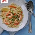 Spagetti chilis garnélával