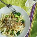 Brokkolis szardellás tészta