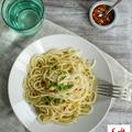 Spaghetti aglio e olio - fokhagymás olívaolajas spagetti
