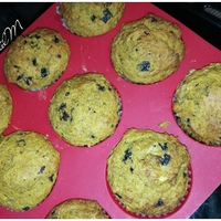 Sütőtökös, banános muffin