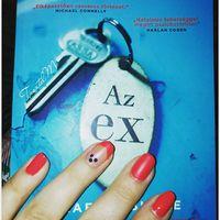 Aktuális könyv és köröm ☺ @letterokiado #letterokiado #azex #bookstagram #book #bookworm #könyvmoly #olvasniszexi #olvasnijó #nails #rednails #beauty #hungarianblogger #instahun