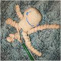 Polip készül :-) #horgolás #horgolt #polip #crochet #octopus #kézzelkészült #kézimunka #hobbi #szórakozás #intahun