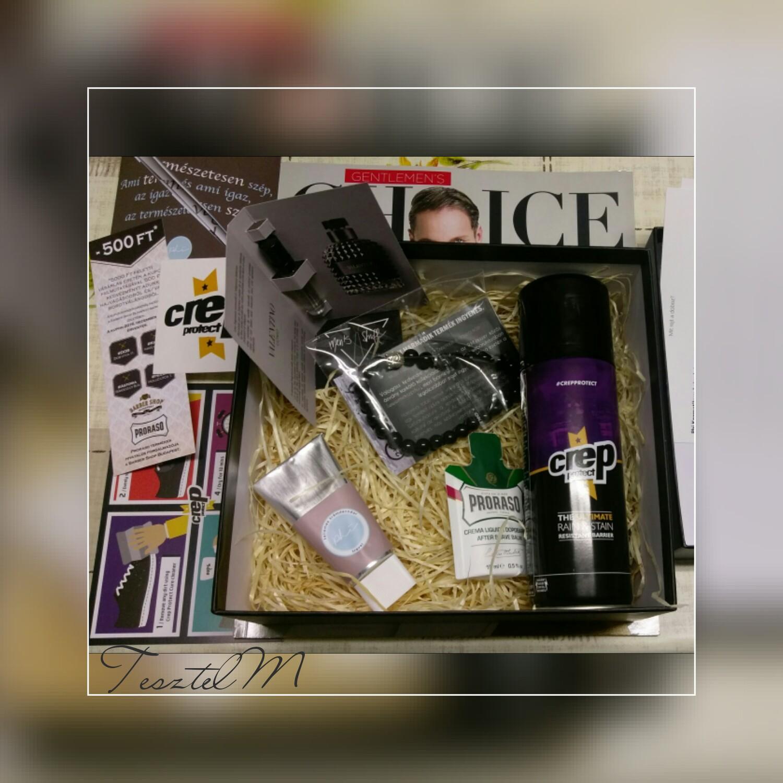 Men's Stuff box