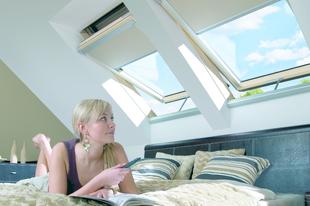 Imádjuk a tetőablakokat...
