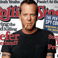 Kiefer Sutherland a Rolling Stone-ban