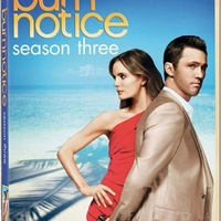 Burn Notice – A 3. évad DVD-n