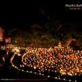 Nagy Buddha nap és gyertyafesztivál