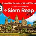 Bangkok – Siem Reap fapados áron