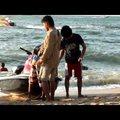 A beach söpredéke