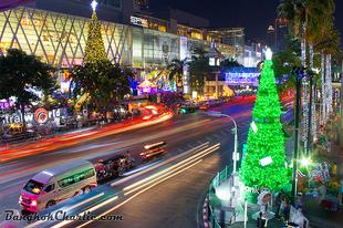 Bangkok Újévváró hangulatban