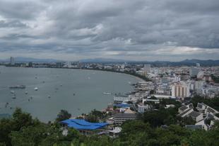 Pattaya felett az ég