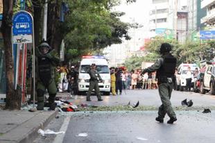 Balul sikerült bombamerénylet Bangkokban