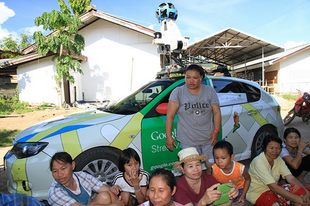 Kémnek nézték a Google kocsi sofőrét