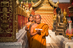 A buddhista böjt vége: Wan Ok Phansa