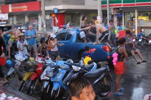 Songkran – utánlövés