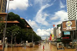 Chiang Mai víz alatt