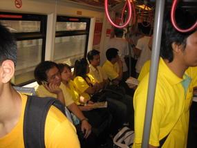 Skytrain ünnep idején
