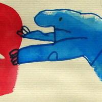 Egy kis akvarell - két daimón