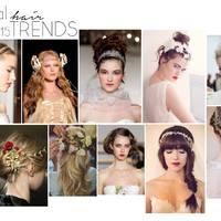 Esküvői haj trend 2015 / Bridal hair trends 2015