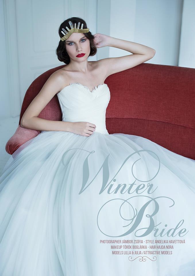 f044b8b3a4 Munkáink - Téli hangulatú editorial anyagunk - The Bride - Esküvői ...
