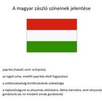 A magyar zászló színeinek jelentése