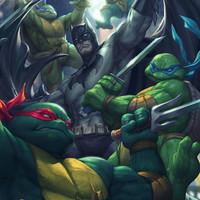 Batman és a Tini Ninja Teknőcök nagy kalandja!