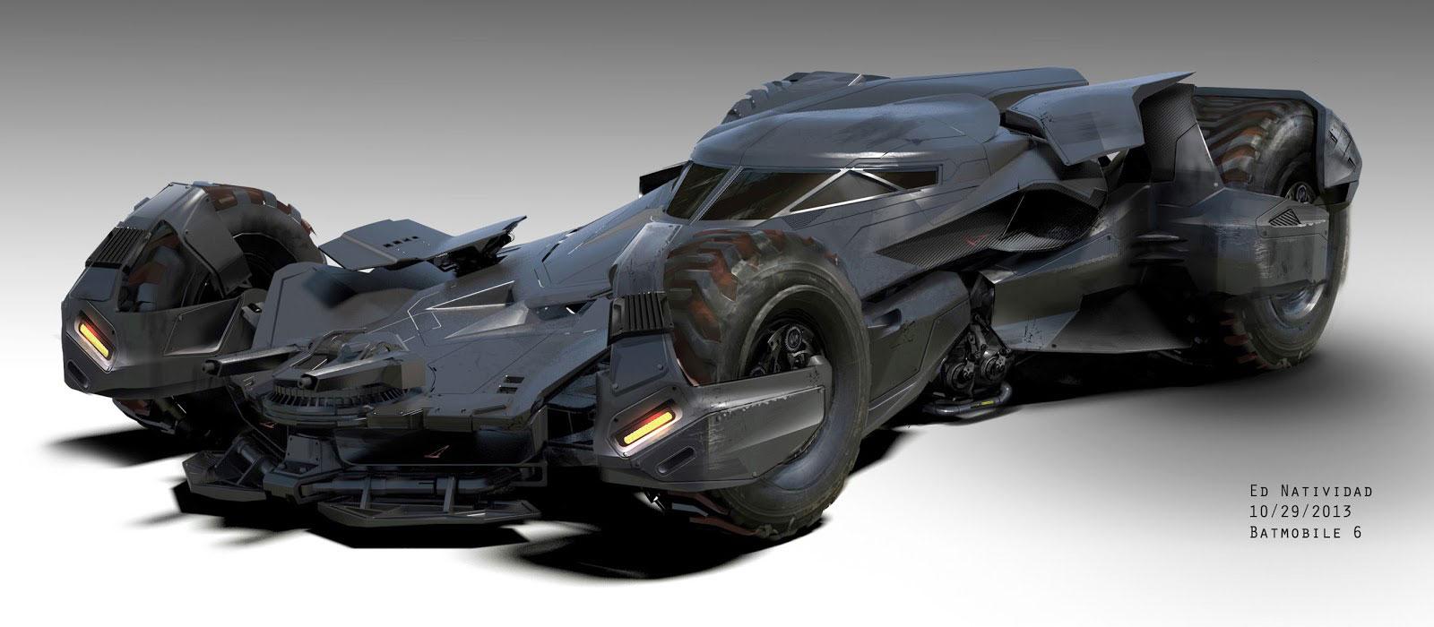 Batmobile és Batbarlang koncepciók