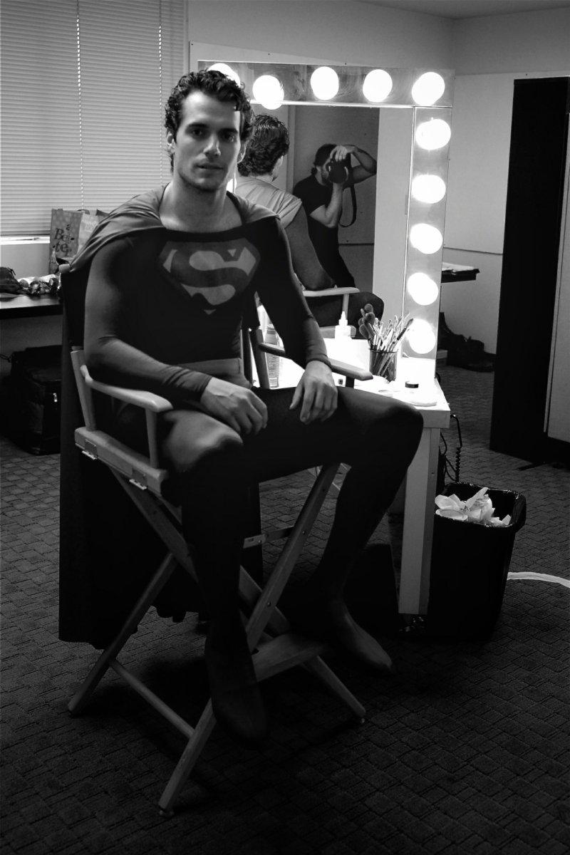 Egy régi ruha az új Supermanen