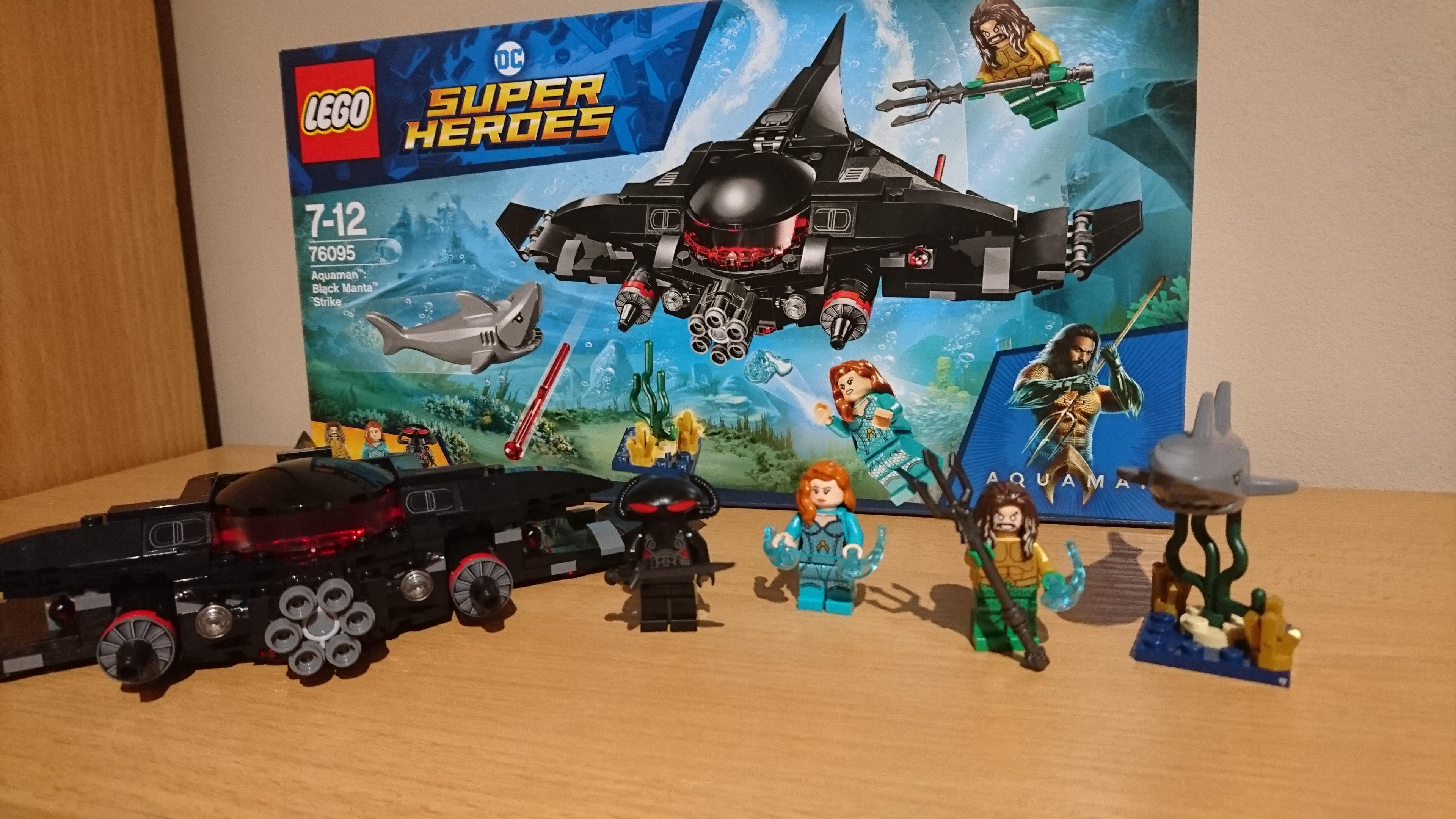Az Aquaman LEGO szett